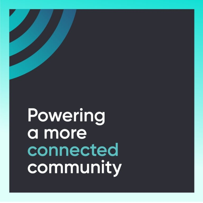 Powering a more connected community